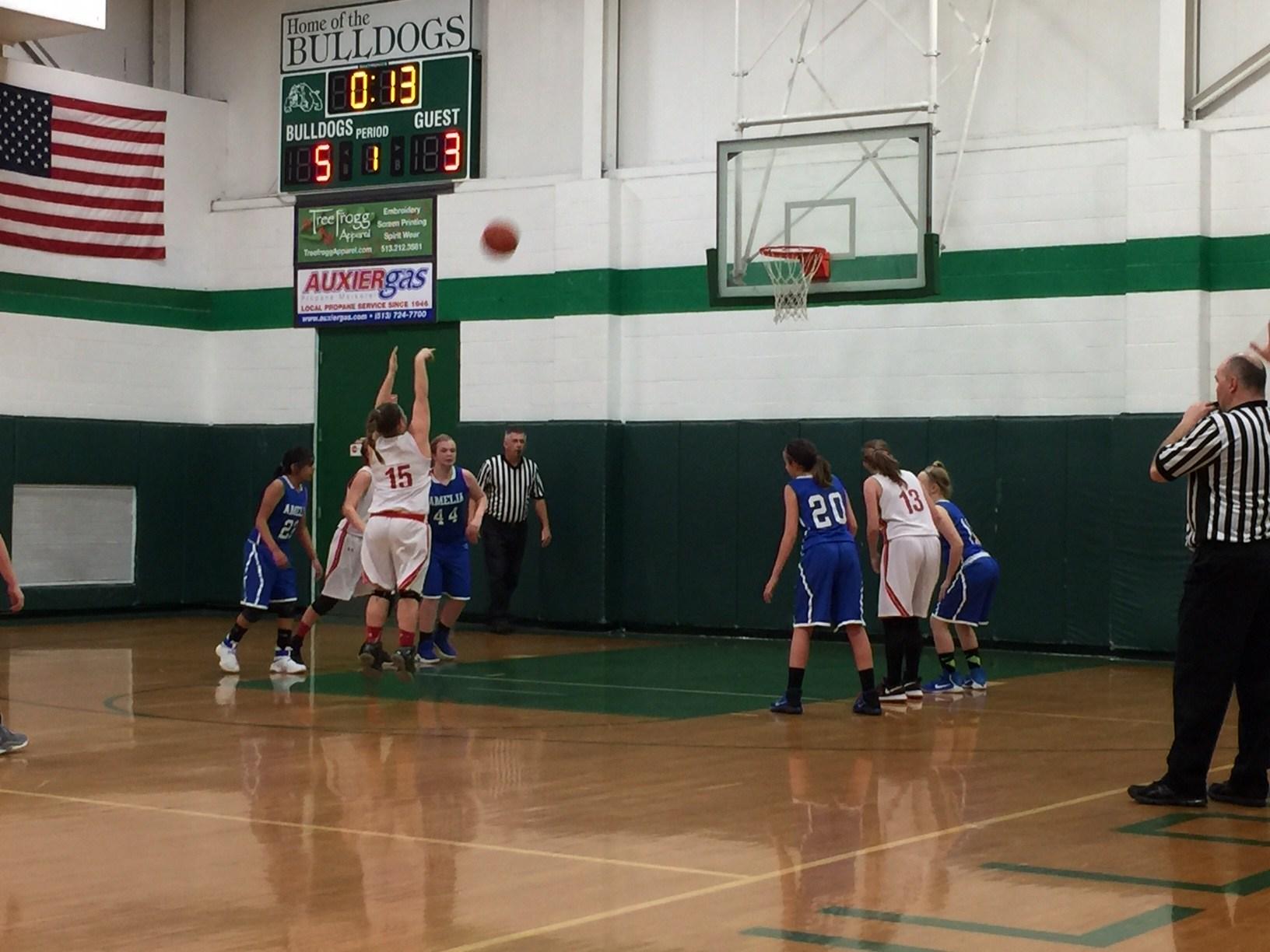 7th grade girls basketball players