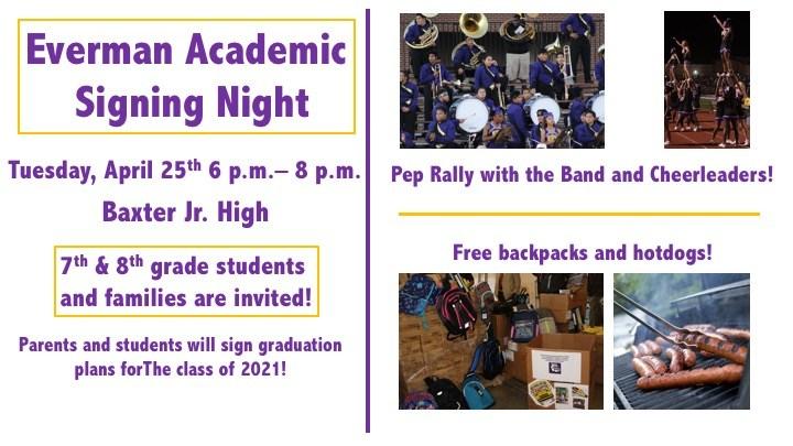 Academic Signing Night