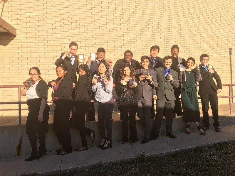 MNTHS Students Compete in BPA Regional Leadership Conference Thumbnail Image