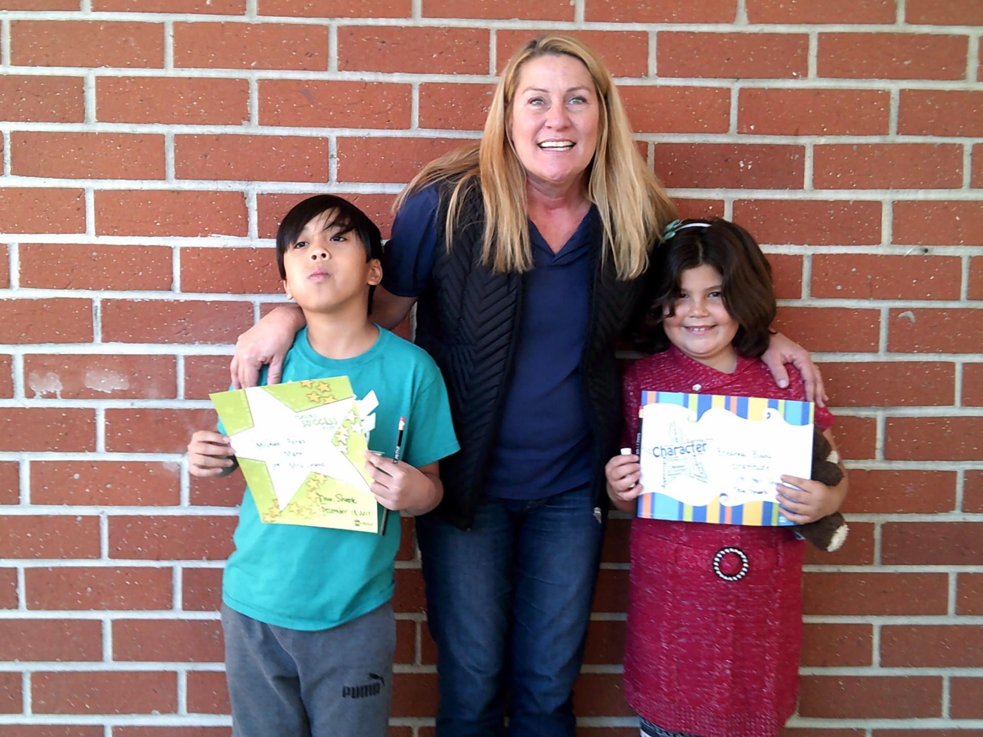 Mrs. Shook's December Honorees