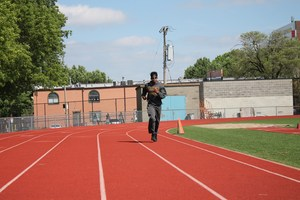Darrion running