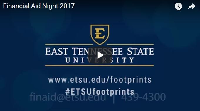 Financial Aid Night at ETSU