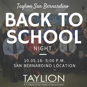 Taylion SB Back to School Night.png