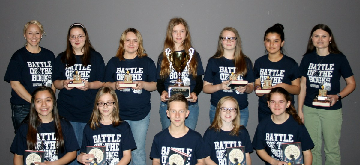 North Wilkes Middle's Battle of the Books Team