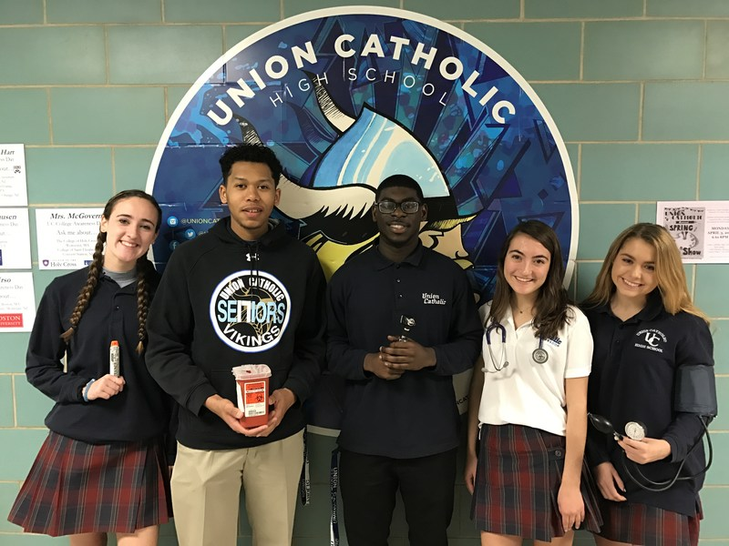 Union Catholic's Health Professionals Club is thriving in its first year Thumbnail Image