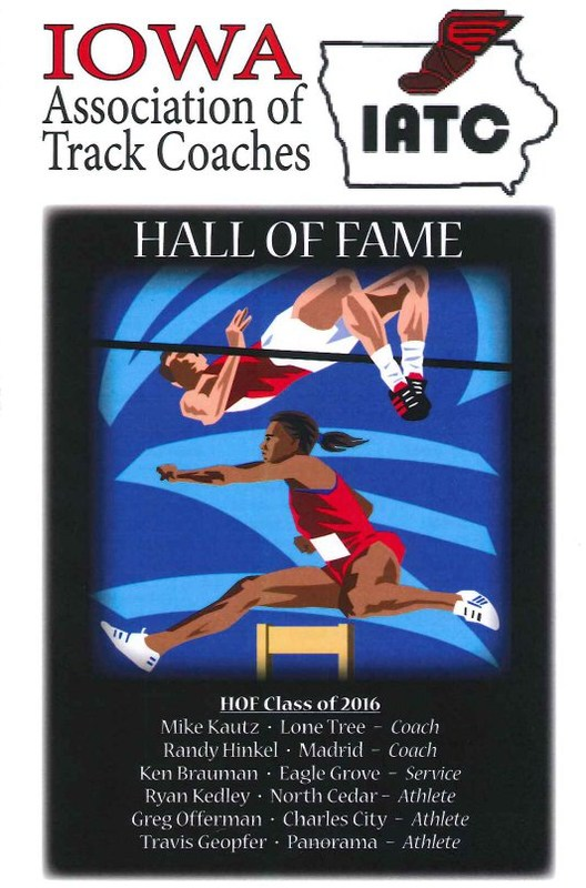 Randy Hinkel inducted into Iowa Track Hall of Fame Thumbnail Image