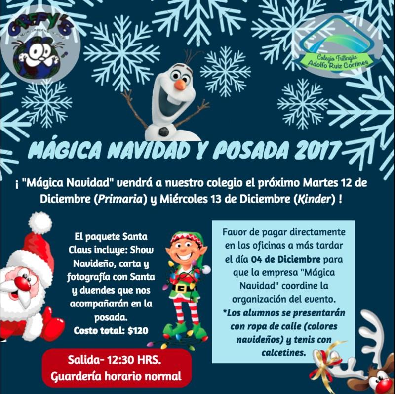 INVITACIÓN POSADA Y MÁGICA NAVIDAD Featured Photo