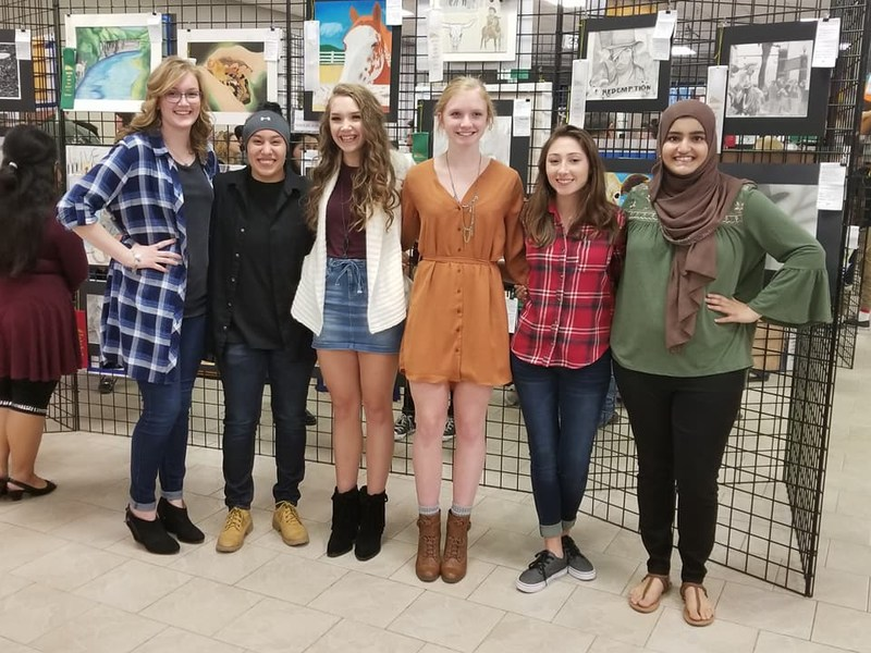 VWHS Students Place Top 25 in the SA Stock Show & Rodeo Western Art Competition Thumbnail Image