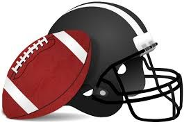 football and helmet clip art