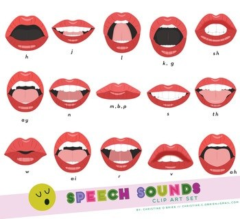 Correct placement for speech sounds!