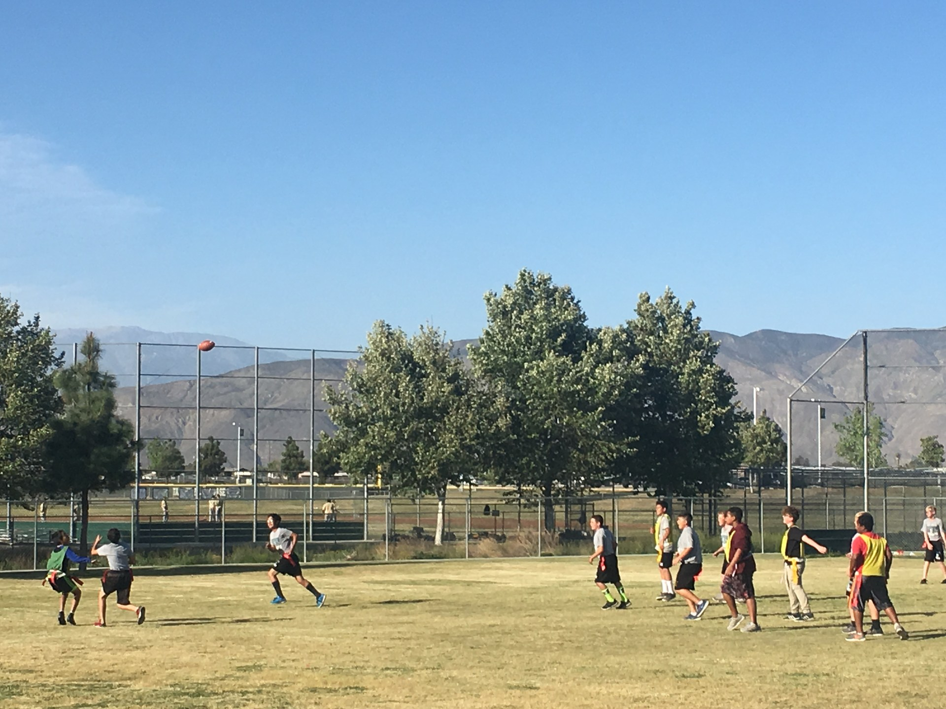 Flag Football- Dartmouth and Rancho Viejo Zone Programs
