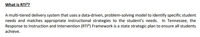 What is RTI2?