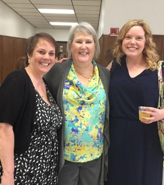 Mrs. Vidourek, Mrs. Danner and Miss Edwards