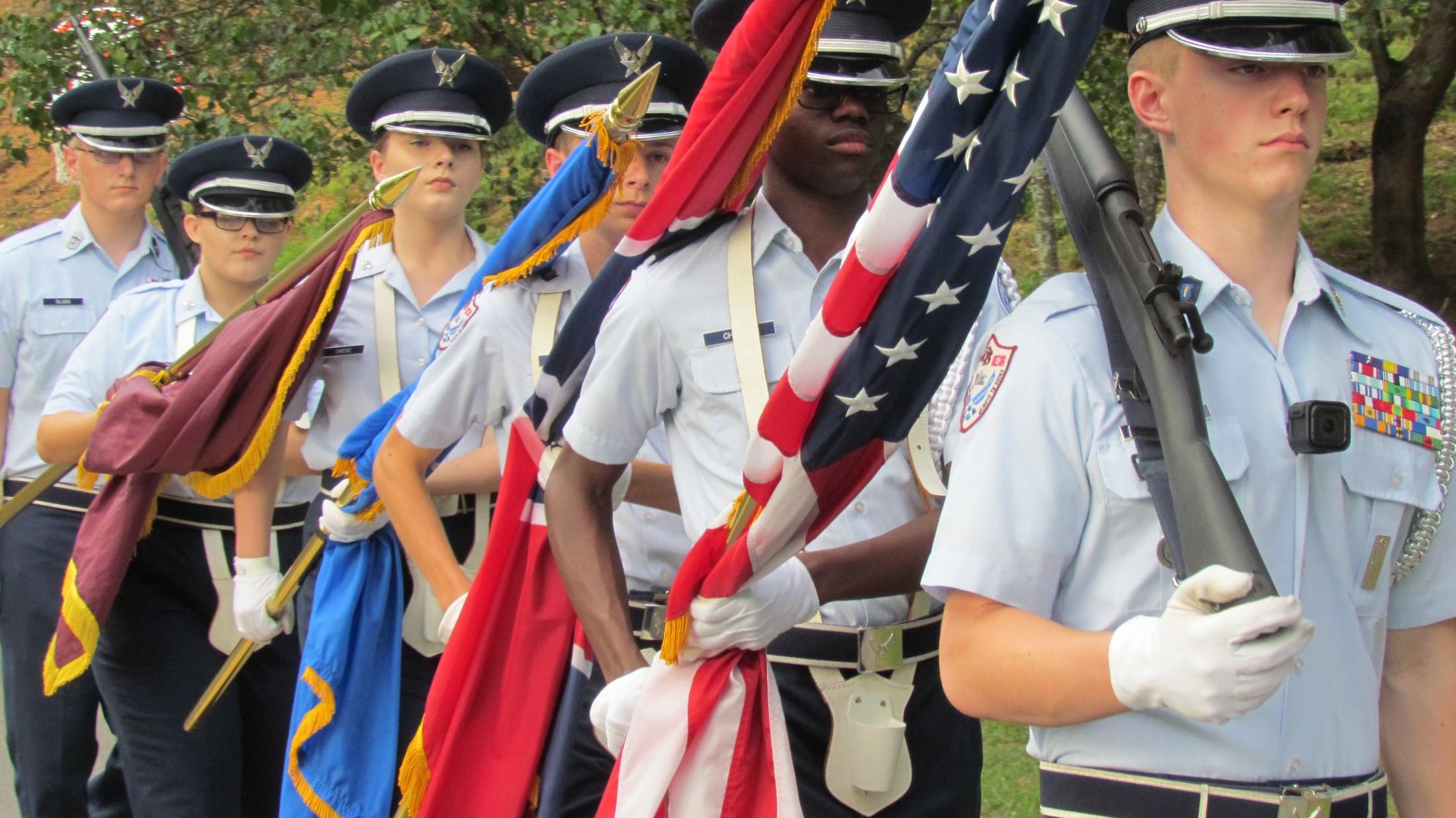 Football Color Guard