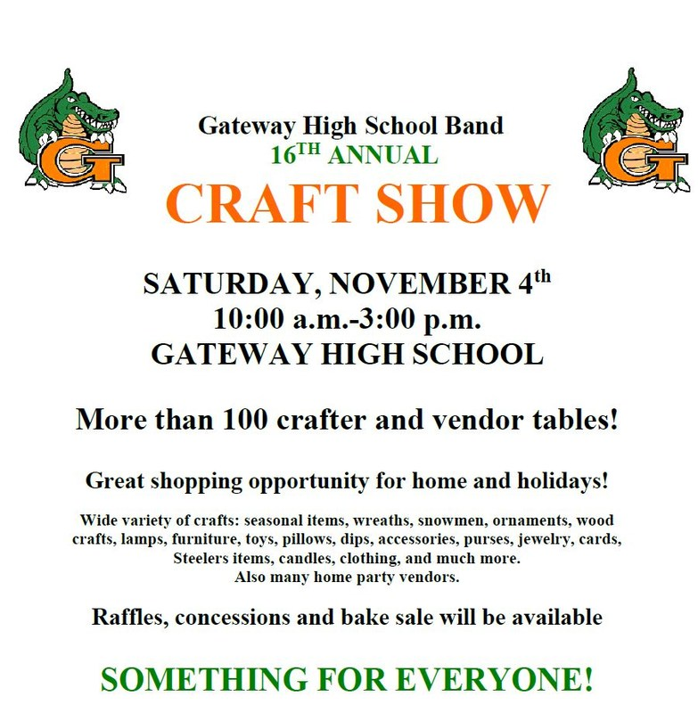 GHS Marching Band Craft Show - Free Admission! Thumbnail Image