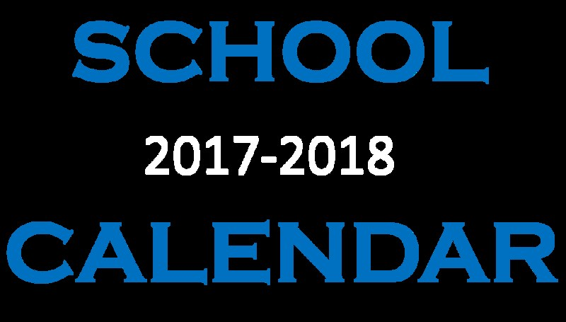 2017-2018 SCHOOL CALENDAR Featured Photo
