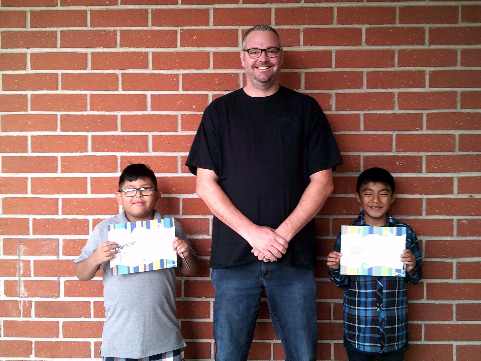 Mr. V's November Honorees