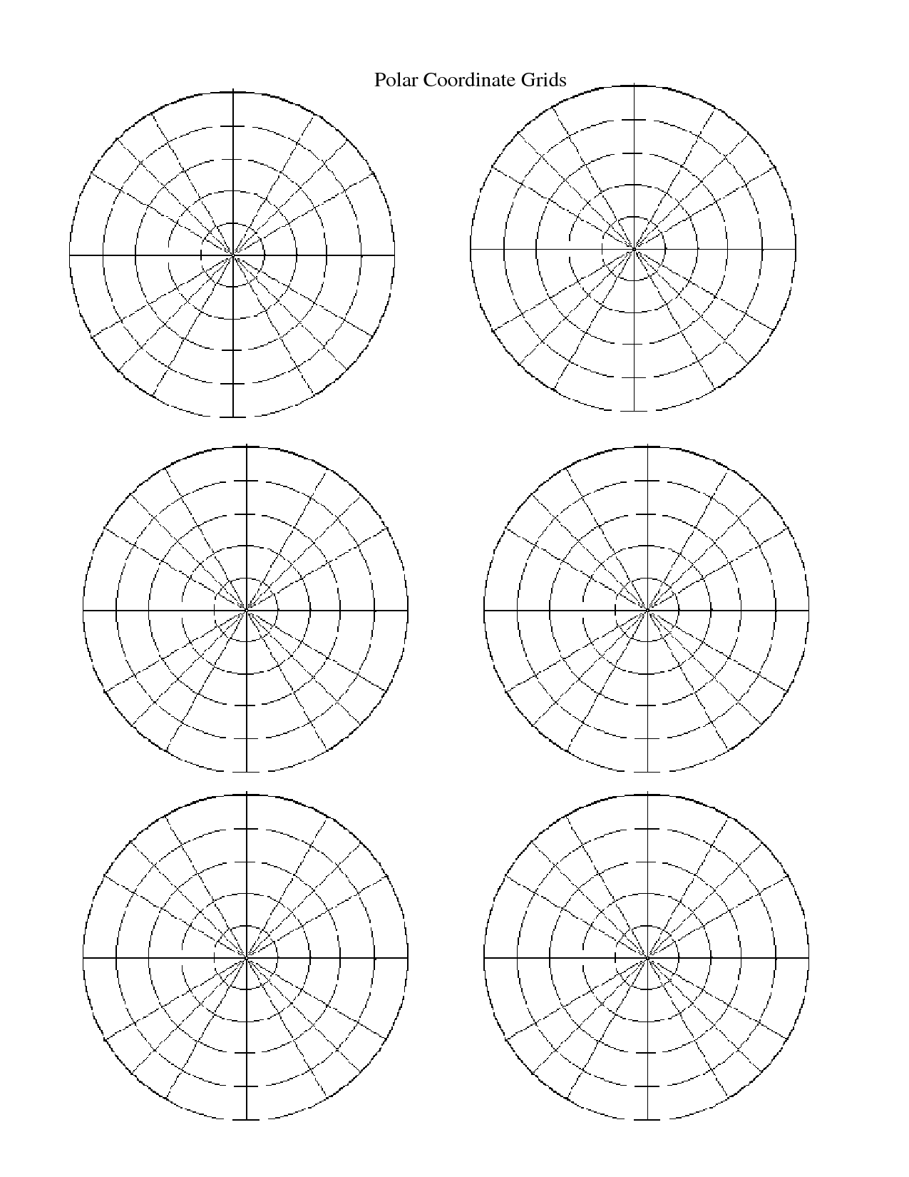 worksheet Polar Coordinates Worksheet south pasadena high school due tuesday may 16