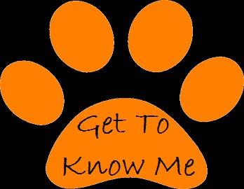 Get to Know Me paw print