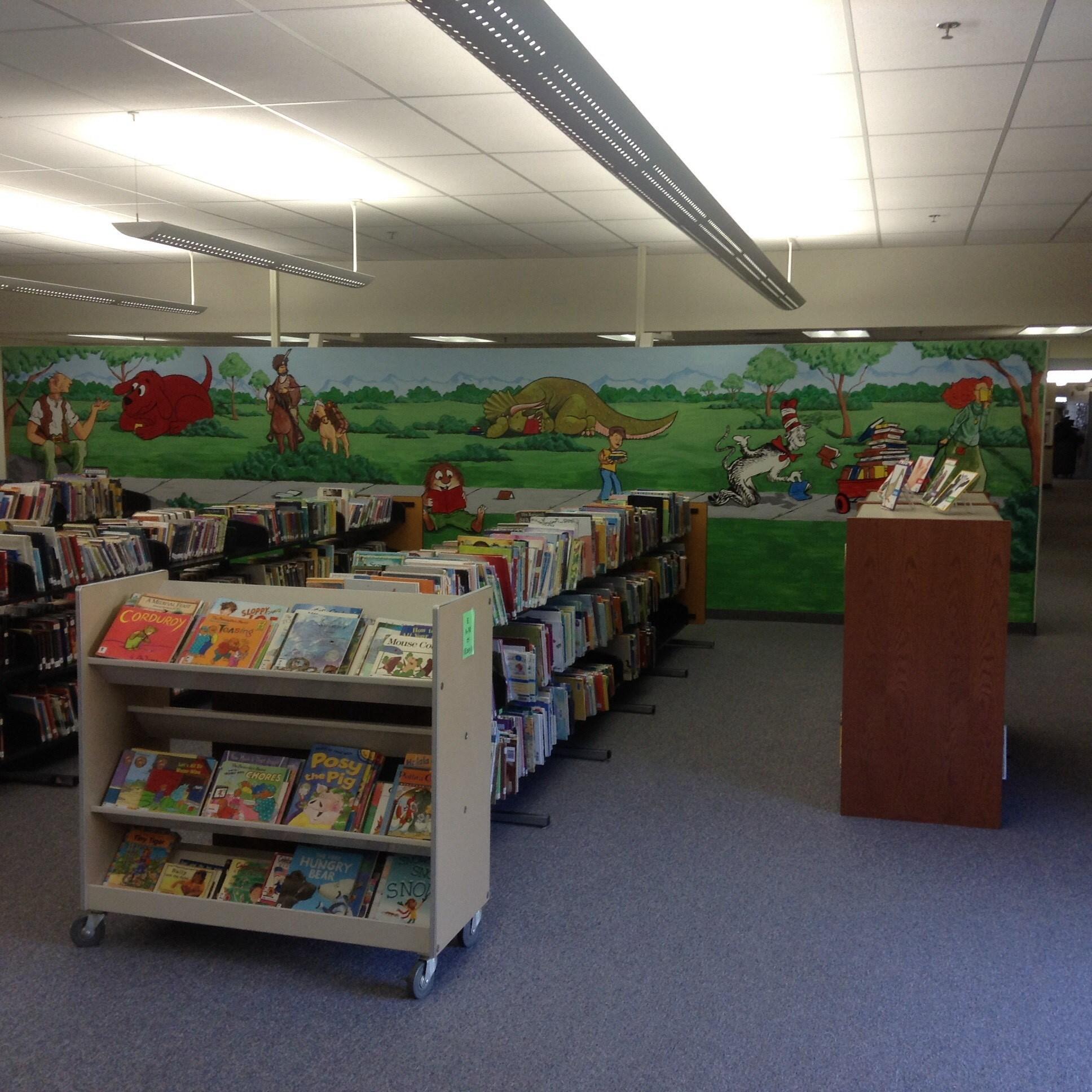 Lovell Elementary Library