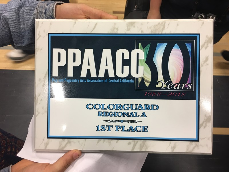 West High Winterguard Regional A PPAACC CHAMPIONS! Thumbnail Image