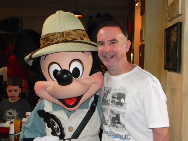 Mr. Smith at Disney World