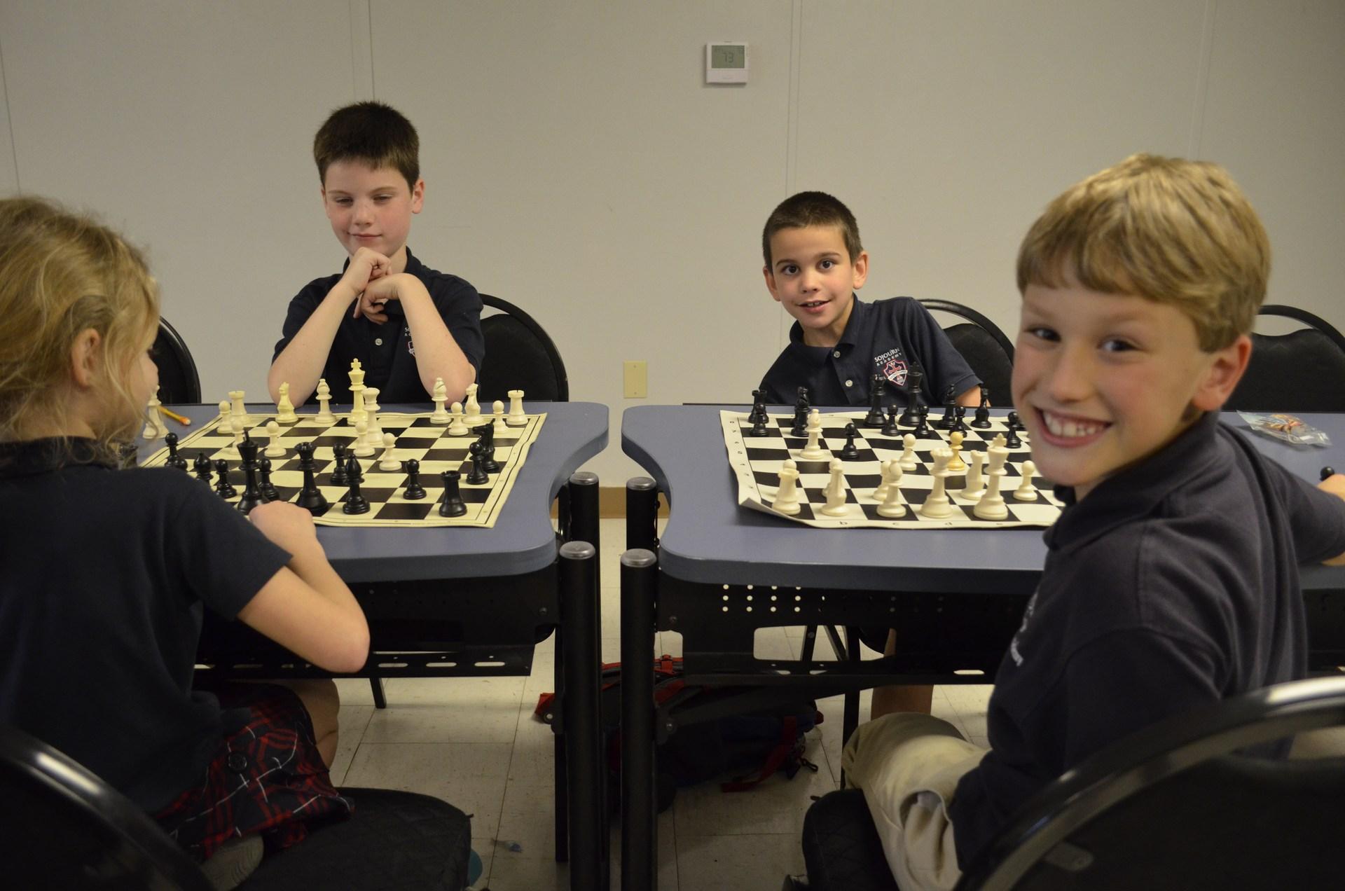 Sojourn Academy Chess Club