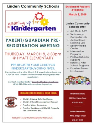 kindergarten Info Night
