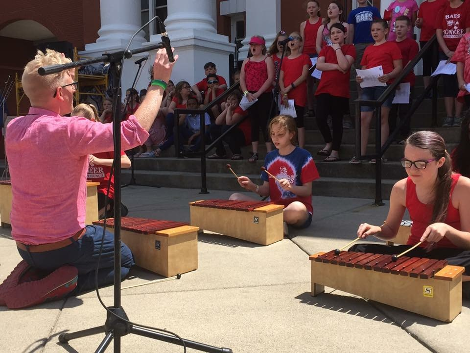 BAES Choruses perform at the 2017 WV Strawberry Festival