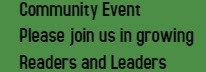 Growing Readers Community Event! Thumbnail Image