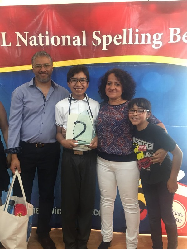 First Place National Spelling Bee. Featured Photo