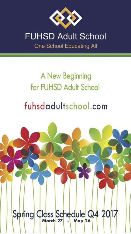 FUHSD Adult School Quarter 4 Catalog Thumbnail Image