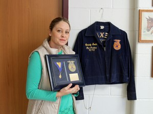 Christina Capps Receives Honorary American FFA Degree.jpg