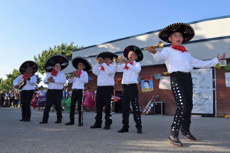 Tracy Elementary dual-language students dance and sing to popular songs by iconic singer Juan Gabriel on May 12 as they showcase their yearlong progress in language and cultural learning.