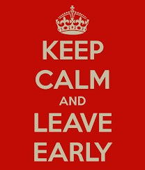 Keep Calm and Leave