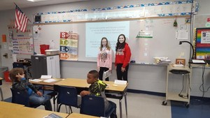 Junior Achievement Day in fifth grade