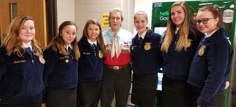 FFA Group with Temple Grandin