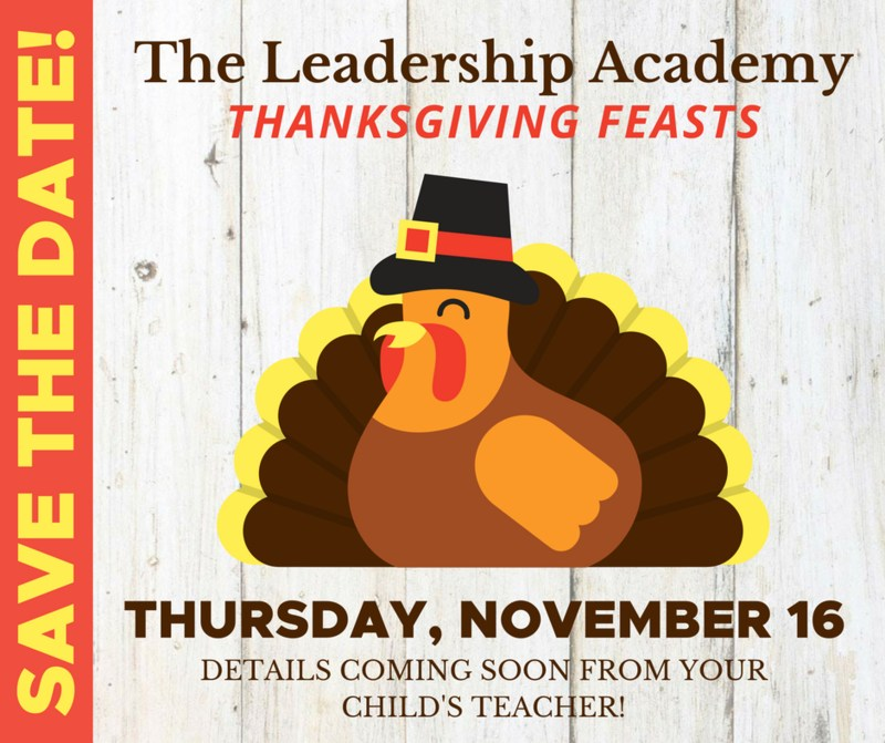 Thanksgiving Feasts - Thursday, November 16 Featured Photo