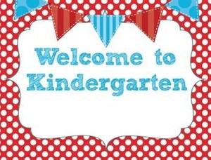 Kindergarten Orientation Information