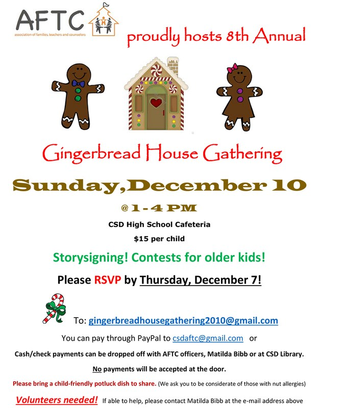 Gingerbread House Gathering