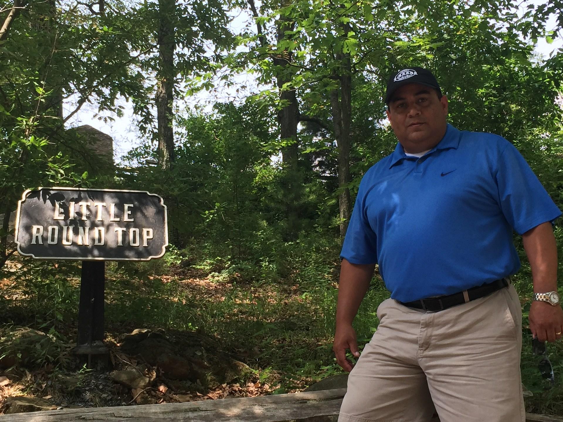 'Little Round Top' - Gettysburg