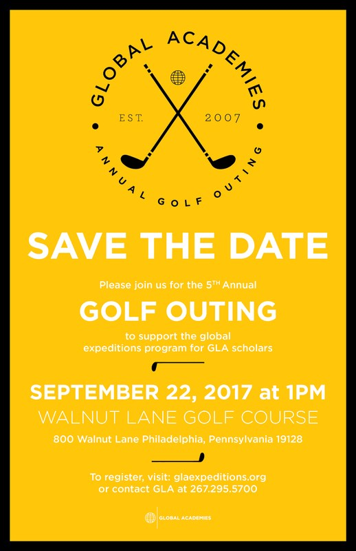 SAVE THE DATE! GLOBAL ACADEMIES GOLF OUTING! Featured Photo