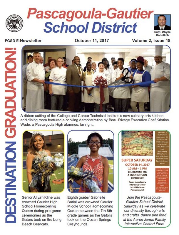 PGSD Newsletter for October 11, 2017
