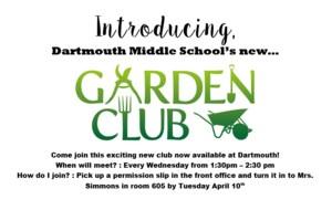 Dartmouth's Gardening Club Information
