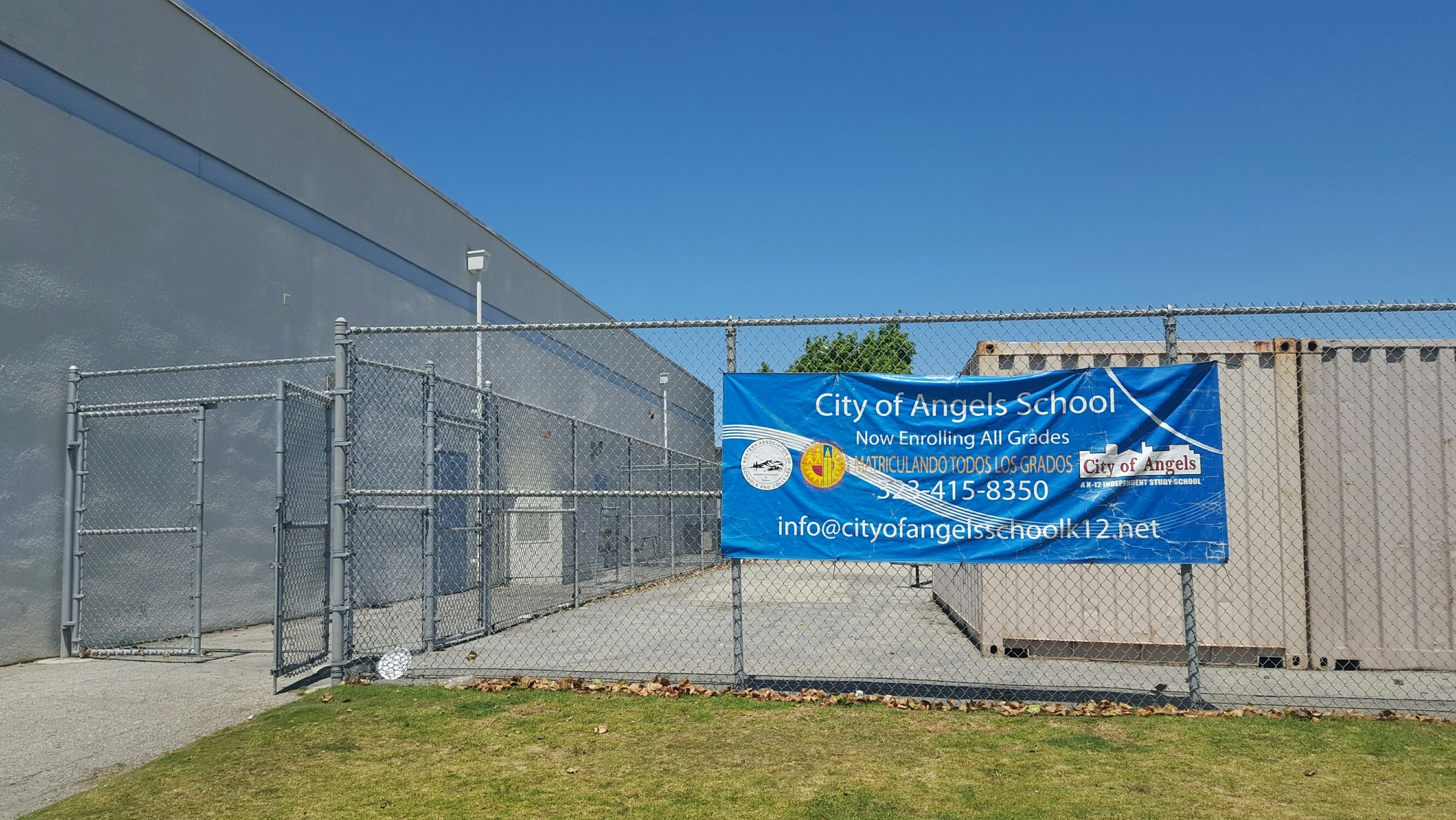 City of Carson - Curtiss Site – South Region – City Of Angels School