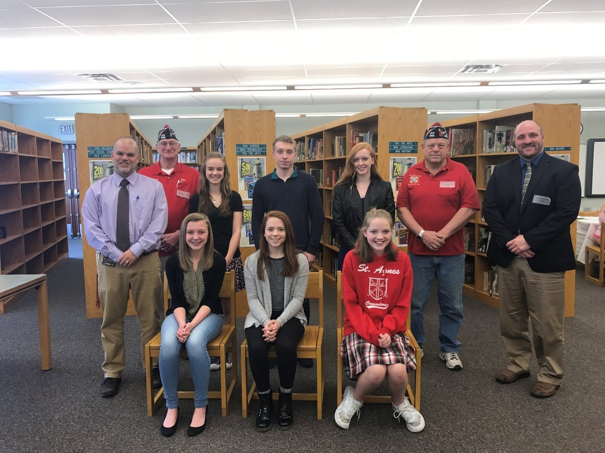 towanda area school district students are given an opportunity to write essays expressing their views on an annual patriotic theme