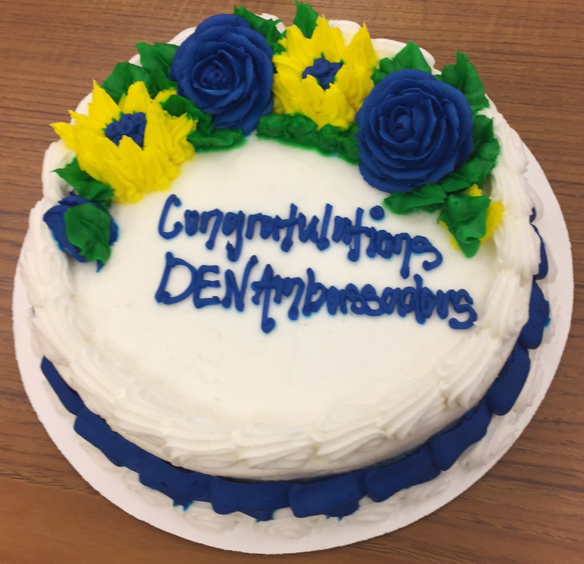 Davis-Townsend celebrates newly named DEN Ambassadors.