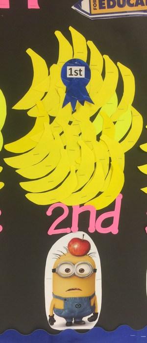 2nd Grade Winning Banans