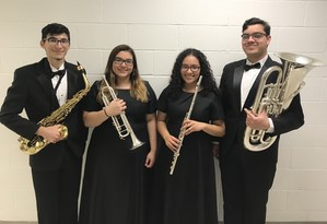 Texas All-State musicians