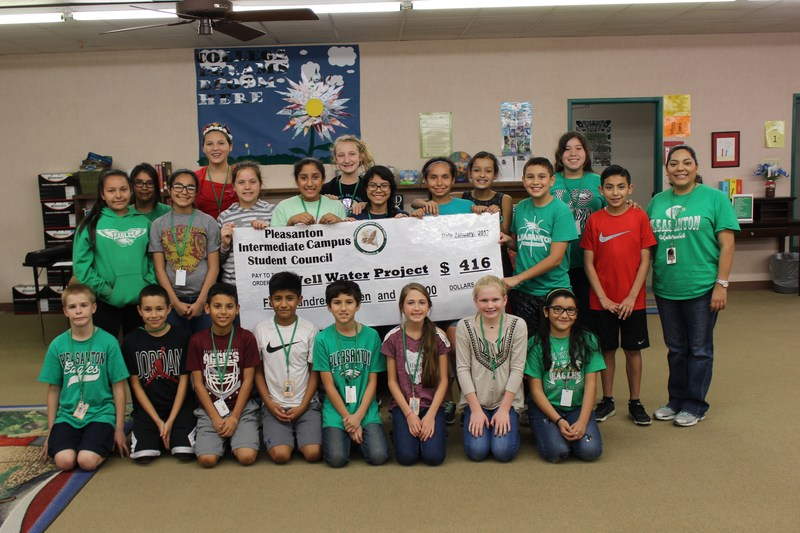 6th grade PIC Student Council Members raise money for local charities.